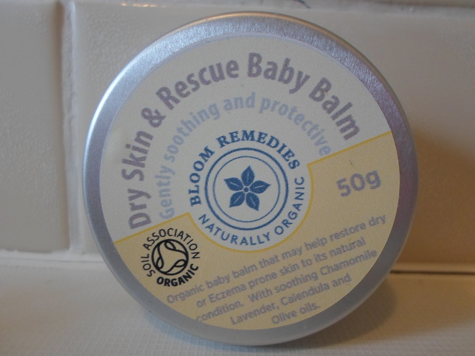 Bloom Remedies Dry Skin & Rescue Baby Balm