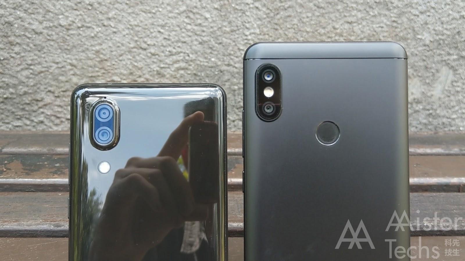 Xiaomi Redmi Note 5 (Pro) vs Sharp Aquos S2 Comparison: Software