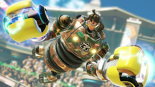 Arms game PS Vita wallpaper