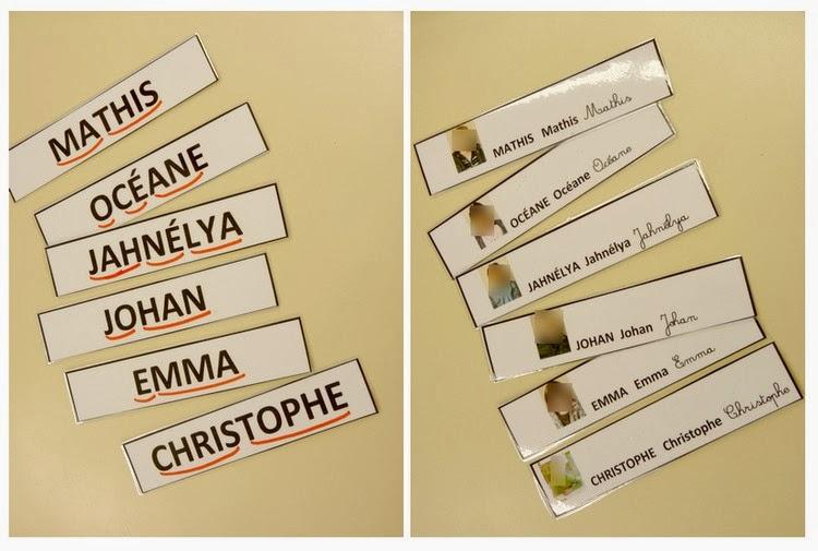 Extraordinaire Le Journal de Chrys: Le prénom en moyenne section DO75