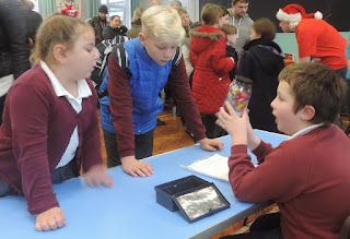 meon junior school christmas fair stall
