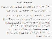Tajwid Surat Al Fajr