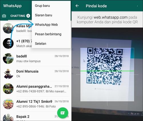 Cara Membuka WhatsApp Web di PC Laptop Dengan Mudah
