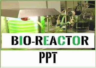 bioreactor ppt seminar report