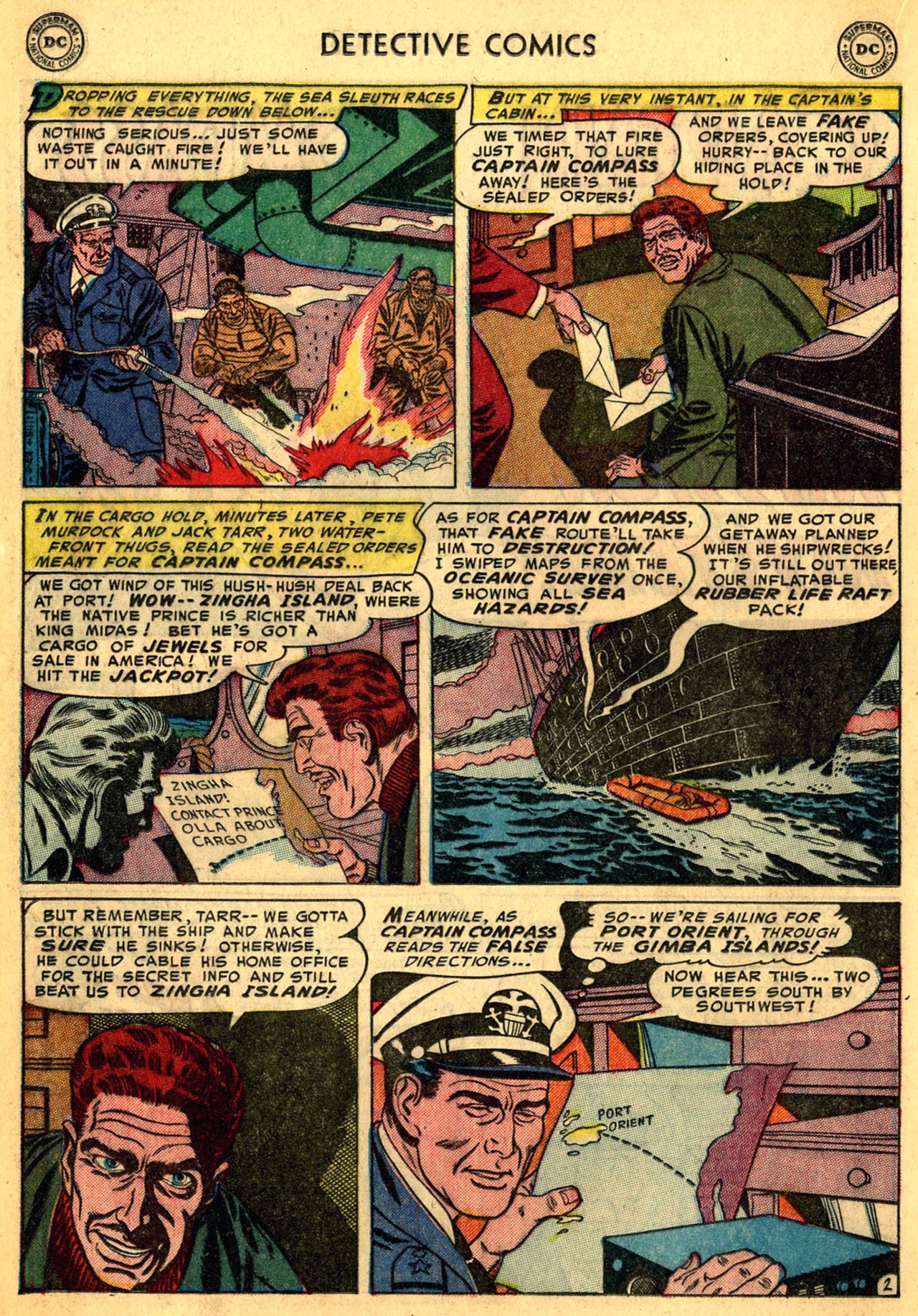 Read online Detective Comics (1937) comic -  Issue #205 - 26