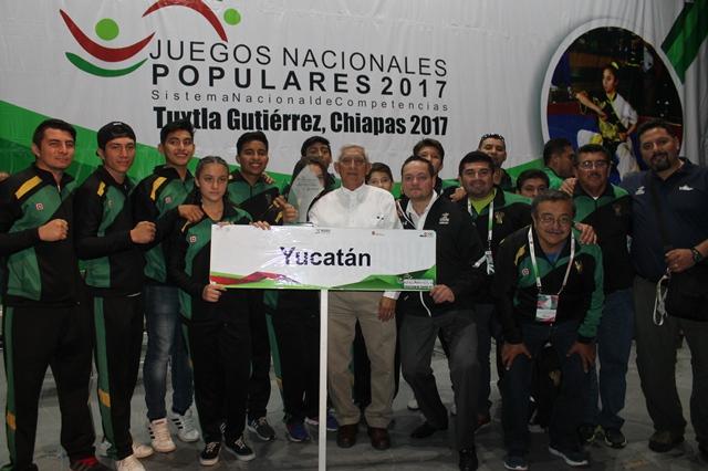 Reconocen labor de IDEY en Juegos Nacionales Populares