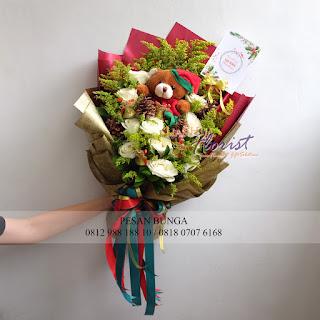 Kado Natal Untuk Pacar, Jual Hand Bouquet Murah, Florist di Jakarta,