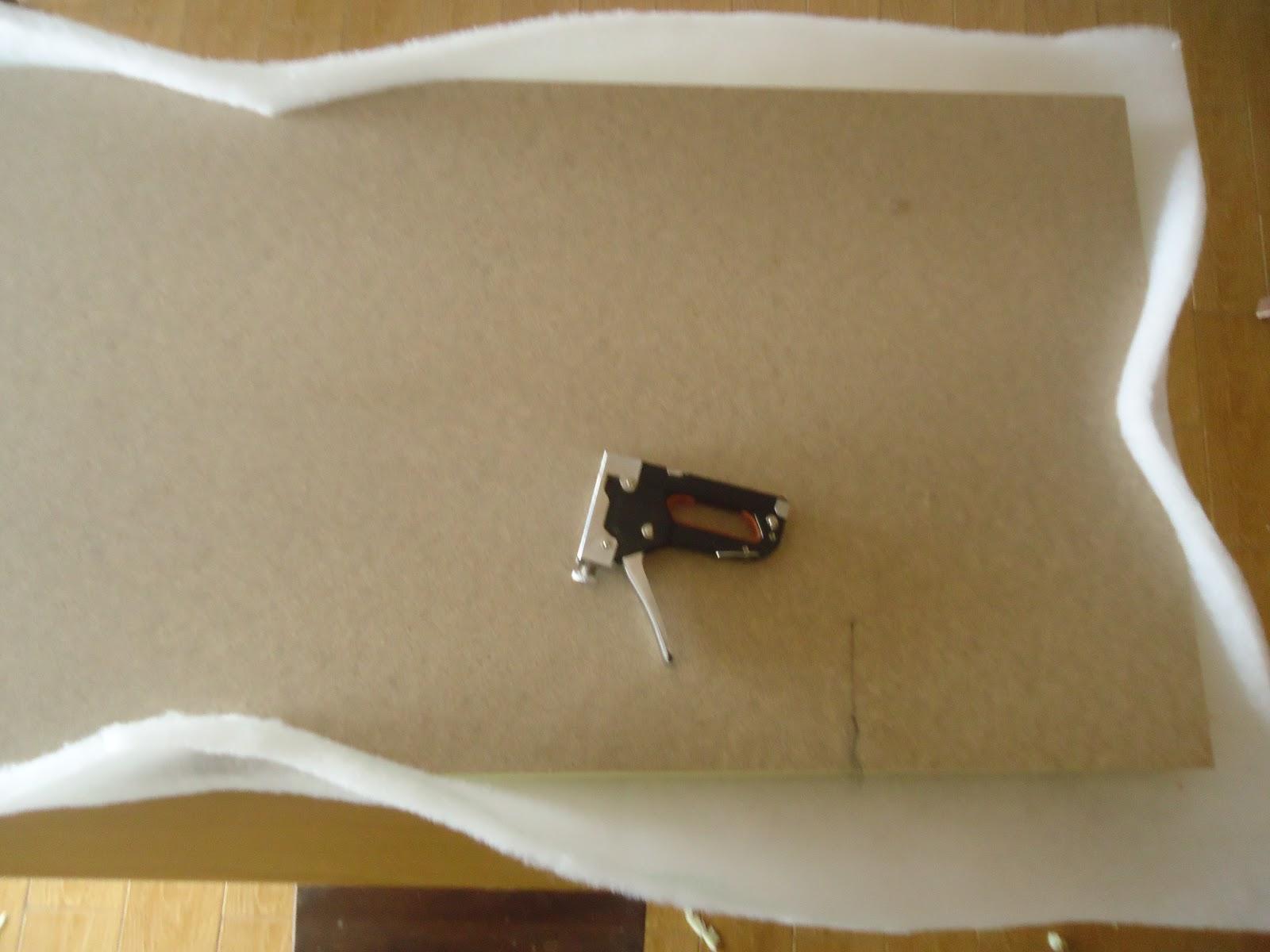 La luci rnaga tutorial tapizar cabecero - Grapadora de tapicero ...