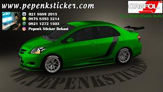 Mobil, Toyota, Vios, Cutting Sticker,  full body, Cutting Sticker Bekasi, cutting sticker Mobil, sticker mobil bekasi, jakarta, Bekasi,