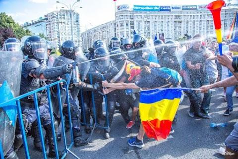 A román katonai ügyészség szerint indokolatlan volt a tömegoszlatás a diaszpóra tavalyi tüntetésén