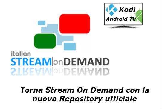 add on stream on demand