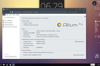 Free Download Operating System OS Windows 10 Altum for Computer or Laptop