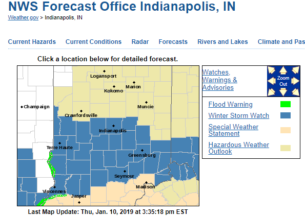 Burls Weather Page Winter Storm Watch Issued Form Monroe County