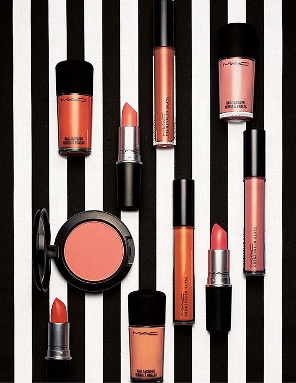 Mac All The Right Angles Makeup Collection For Spring 2016: MAC All About Orange Collection Summer 2013