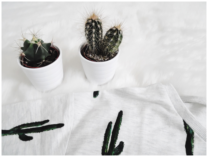 fashion | new in | h&m cacti sweater | more details on my blog http://junegold.blogspot.de | life & style diary from hamburg | #fashion #newin #hm #sweater #print #cacti