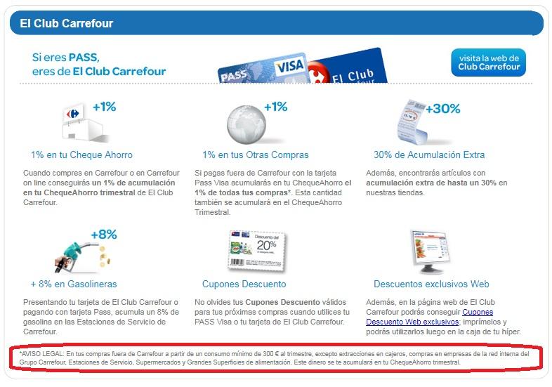Opiniones Sobre Carrefour Pass Visa De Carrefour Prestamos