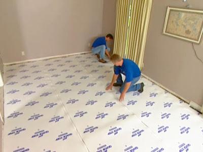 Laminate Floor Underlayment