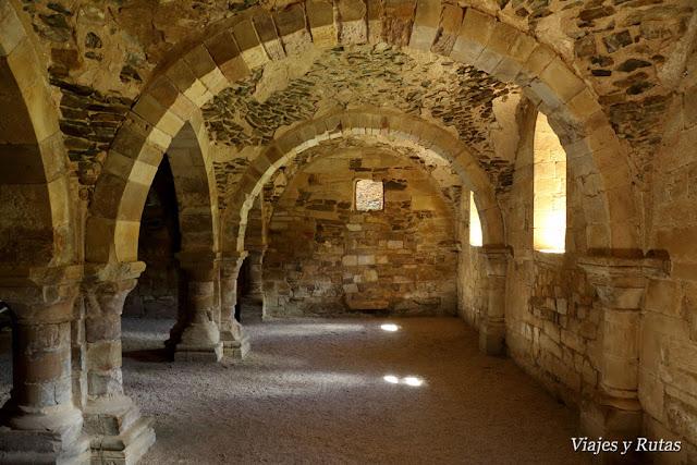 Sala de los Monjes, Monasterio de Moreruela