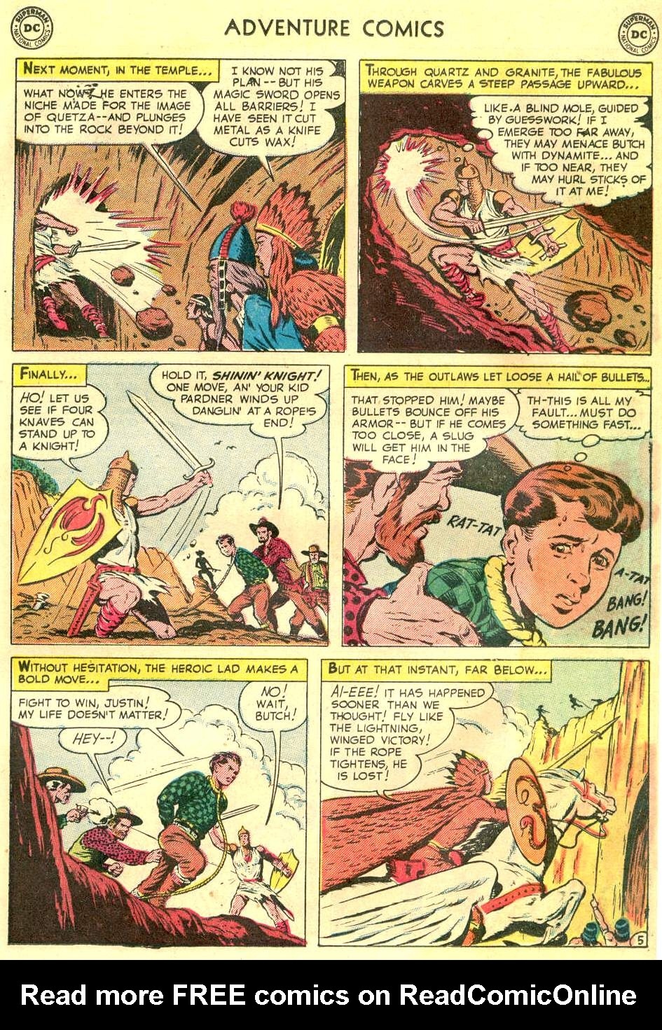 Read online Adventure Comics (1938) comic -  Issue #166 - 18