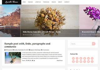 Lavelle Blogger Template