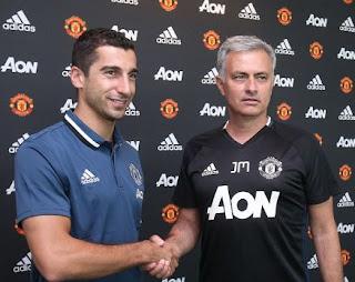 Mkhitaryan & Mourinho Usai Tandatangan Kontrak