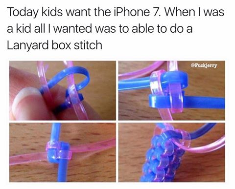 Today, kids want the iPhone 7