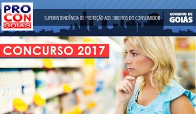 Concurso Procon GO 2017