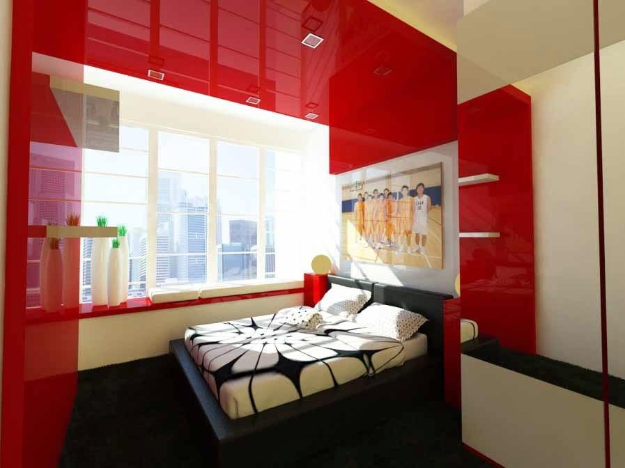 Sumber: desainrumahkeren.com & 25 Desain Kamar Tidur Ukuran Kecil Bergaya Minimalis Modern ...