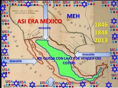 la colonización de USA en México está a todo vapor gracias a la Corrupción