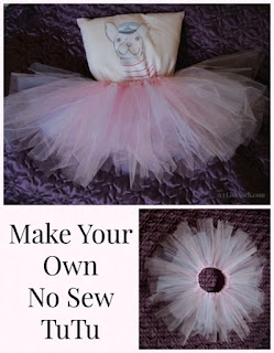 no sew tutu- how to make a tutu