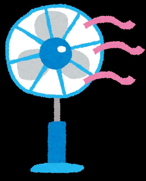 扇風機のイラスト かわいいフリー素材集 いらすとや