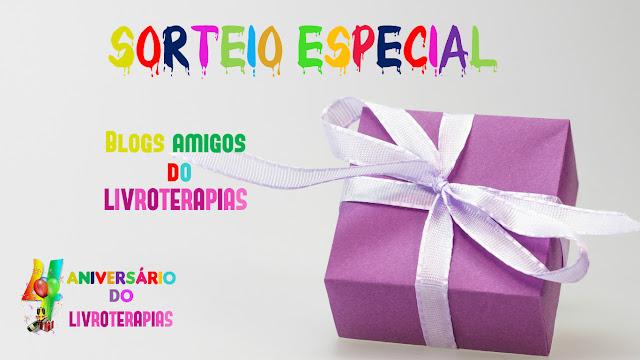 SORTEIO: Aniversário do Livroterapias
