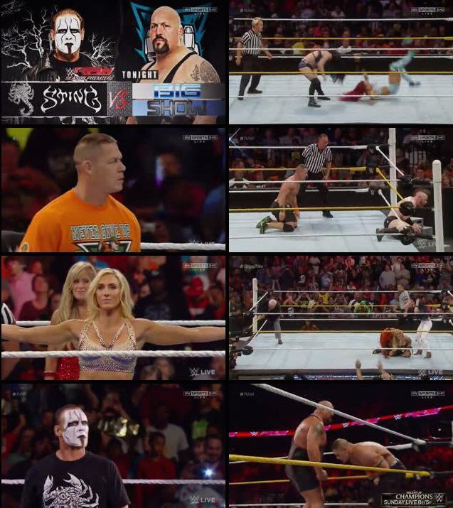 WWE Monday Night RAW 14 Sep 2015 HDTV 480p