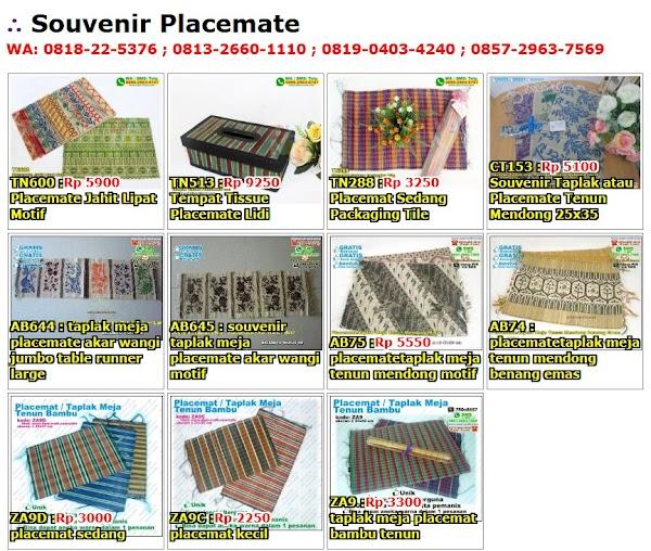 Daftar Harga Souvenir Placemate