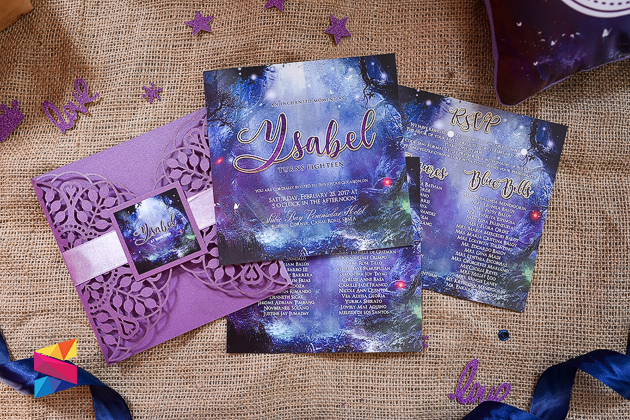 Enchanted Themd Debut Invitation Stunro CreativeWorks