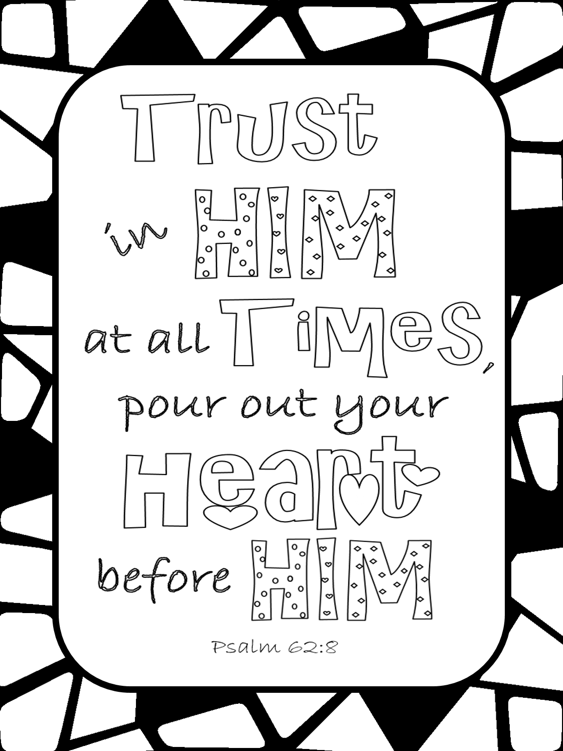 One Bright Crayon: Free Bible Journal Coloring Pages