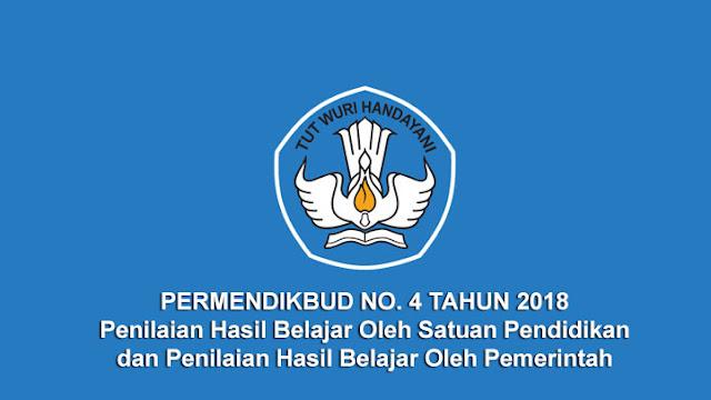 Permendikbud No. 4 Tahun 2018