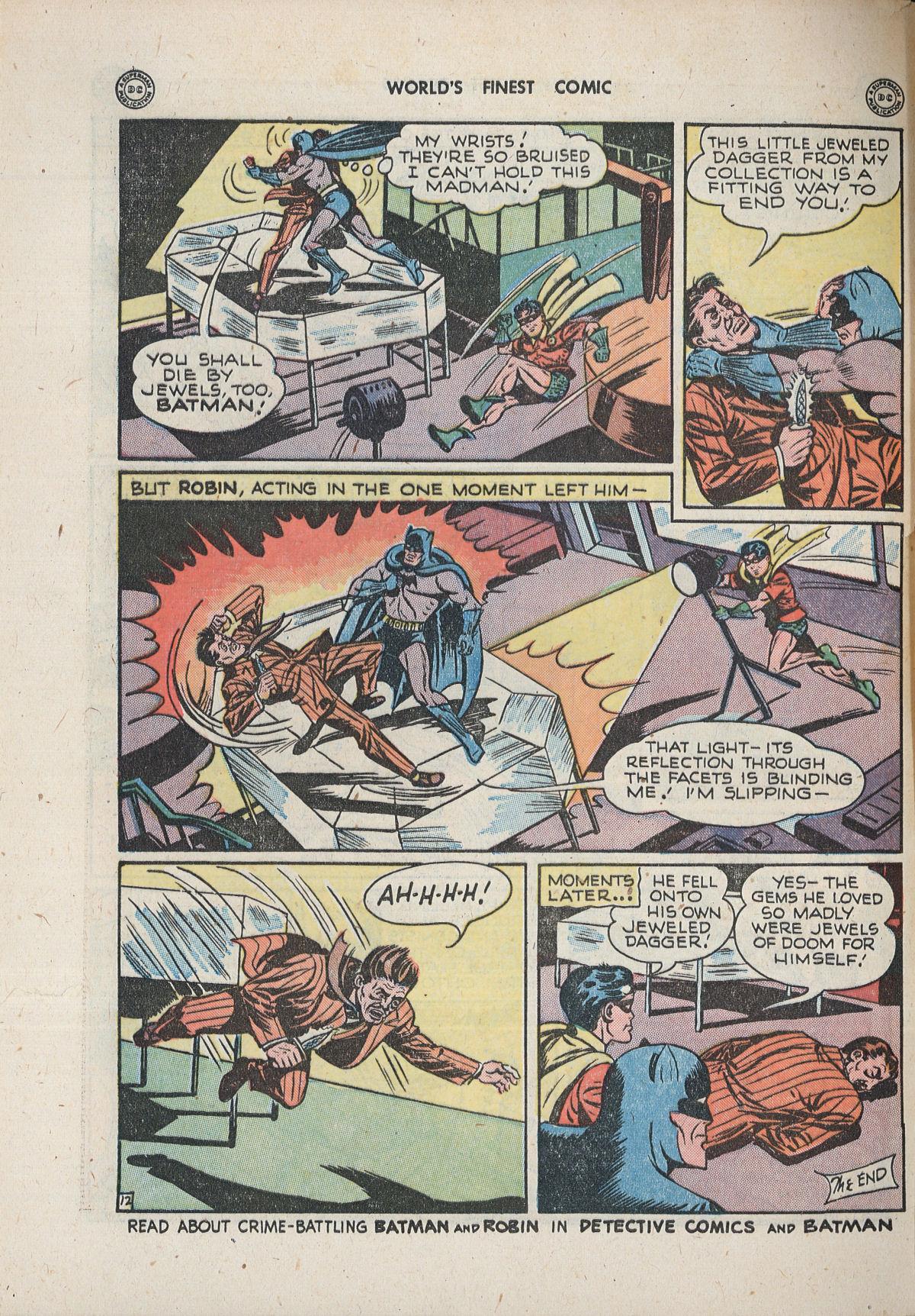 Read online World's Finest Comics comic -  Issue #33 - 72