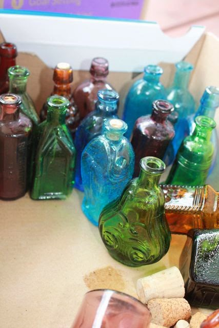 Harry Potter's Potions Class - Homemade potion jars via www.happybirthdayauthor.com
