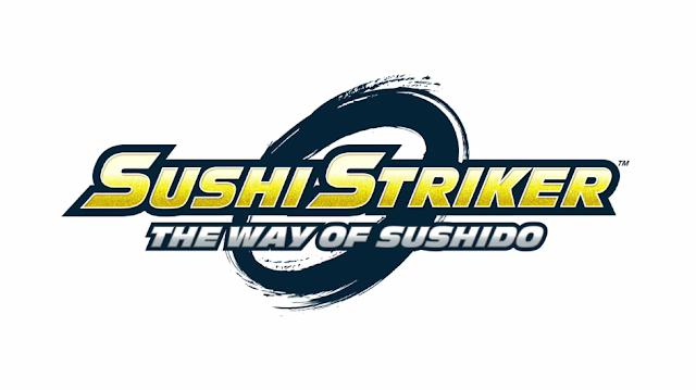 Sushi Striker The Way of Sushido artwork title logo
