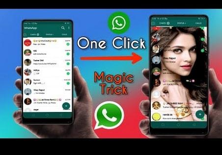 Cara Mengganti Background Home Screen Whatsapp Tanpa Root dijamin Berhasil