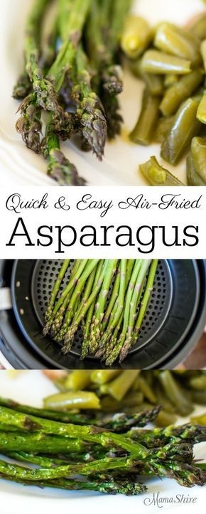 Air-Fried Asparagus