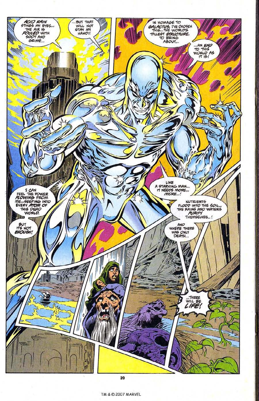 Silver Surfer (1987) Issue #104 #112 - English 22