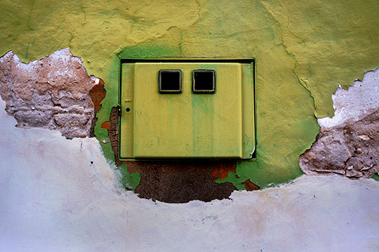 urban photography, urban photo, green box, contemporary, urban decay, Sam Freek,