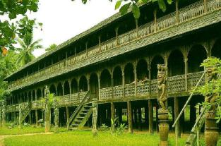 "Rumah Betang a ""Dayak Borneo Traditional Long House"""