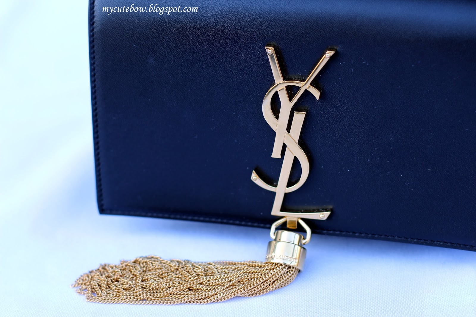 Gilt Review Ysl Monogram Tassel Bag My Cute Bow