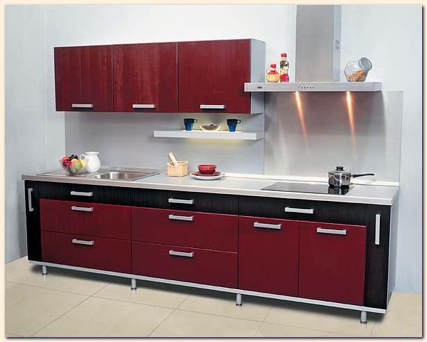 conception petite cuisine id es d co moderne. Black Bedroom Furniture Sets. Home Design Ideas