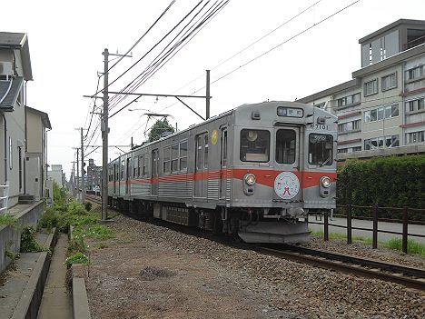 【東急27年前引退車両がいた!】北陸鉄道石川線 普通 野町行き1 7000系
