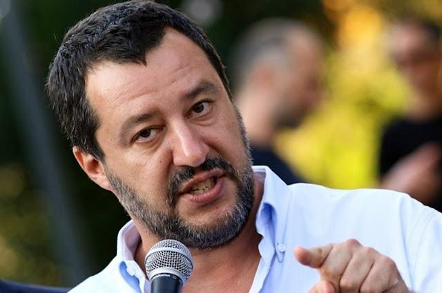 Σαλβίνι: Tα χρηματοοικονομικά λόμπι στις Βρυξέλλες δεν μπορούν να δεχθούν την παρουσία μας στην κυβέρνηση