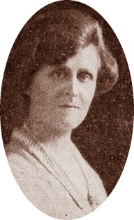 La ajedrecista Agnes Bradley Lawson-Stevenson